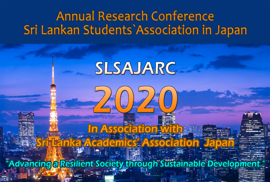 Adam-i to be the main sponsor of SLSAJ Annual Research Conference for the 5th consecutive time.